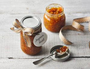 Vanille-Ahorn-Clementinen-Marmelade