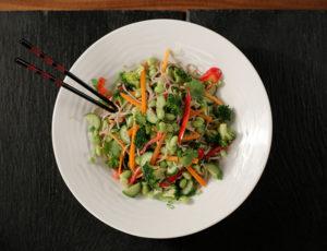 Buchweizen-Gemüsesalat mit Ahorndressing