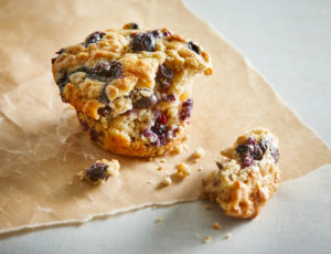 Ahorn-Blaubeer-Muffins