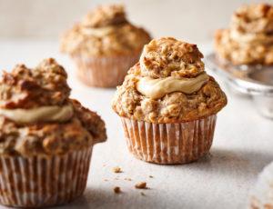 Ahorn-Hafer-Muffins