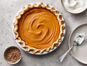 Ahorn-Süßkartoffel-Pie