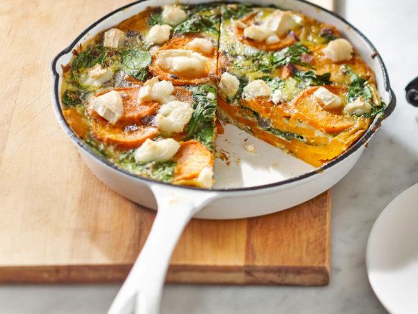 Süßkartoffel-Ahorn-Frittata