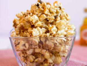Ahorn-Zimt-Popcorn