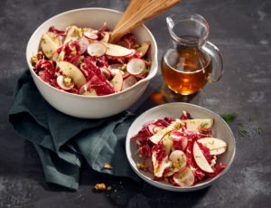 Ahorn-Apfel-Walnuss-Salat